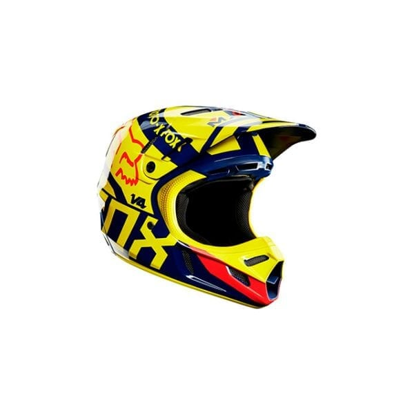 V4 Yellow Blue Red