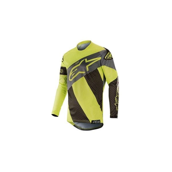 techstar factory jersey black yellow fluor9