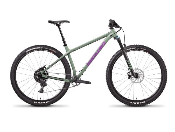 Santa Cruz Chameleon AL Green R1AM