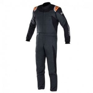 Buzo Auto Alpinestars Gp Race Suit Anth Black Org