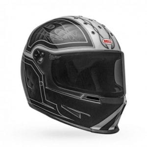 Casco Bell Eliminator Outflag Black-White