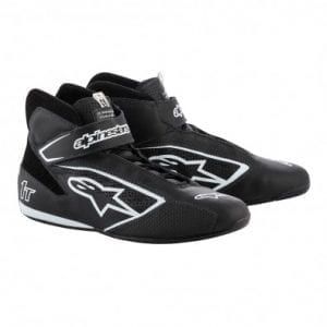 Zapatillas Auto Alpinestars Tech-1 T Black White