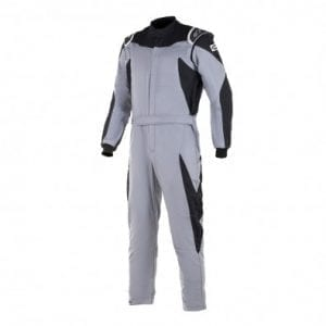 Buzo Auto Alpinestars Gp Race Suit Mid Gray Black