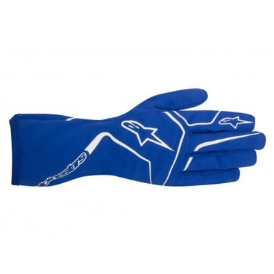 Guantes Karting Niños Alpinestars Tech-1 K Race Blue