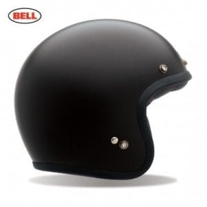 Casco Bell Custom 500 Solid Matte Black