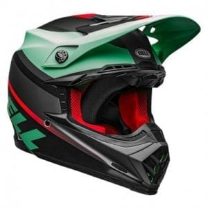 Casco Bell Moto-9 Mips Prophecy Mat Green/If/Bk