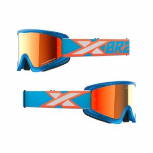 Antiparra EKS Flat Out Mirror Cyan/Flo Orange/white