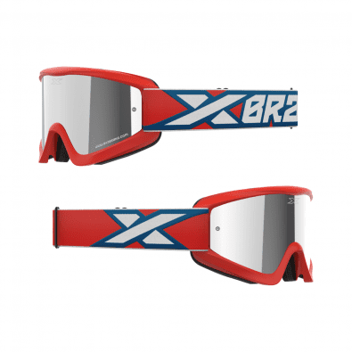 Antiparra EKS Flat Out Mirror Red/White/Blue