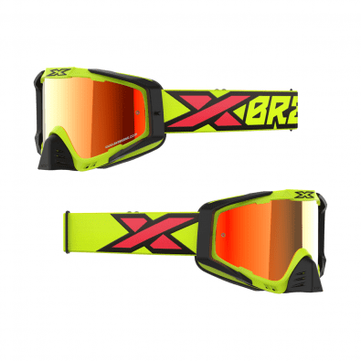 Antiparra EKS-S Flo Yellow/Black/Fire/Red Mirror Lens