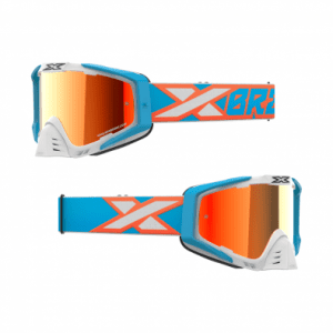Antiparra EKS-S White/Cyan/Flo Orange/Red Mirror Lens