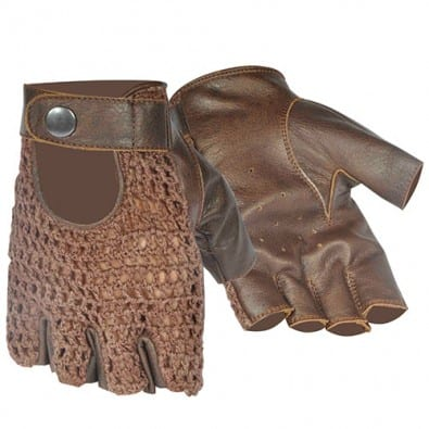 Guante Chopper Mesh [Dark Brown]