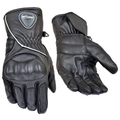 Guante Inmotion Leather Polyester Carbon Blk