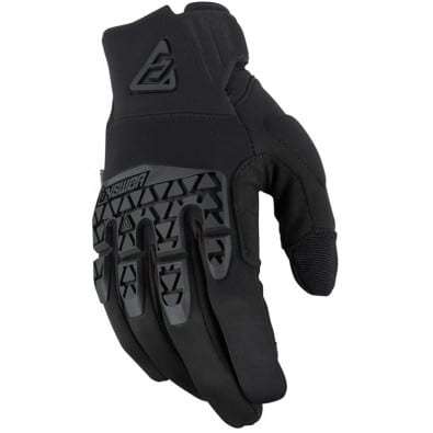 Guantes Answer Ar-5 Enduro - Black