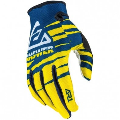 Guantes Answer Ar1 Proglo - Yellow/Midnight/White