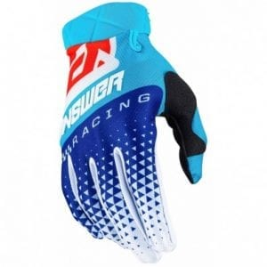 Guantes Answer Ar3 Korza – Hyper Blue/Reflex/Red