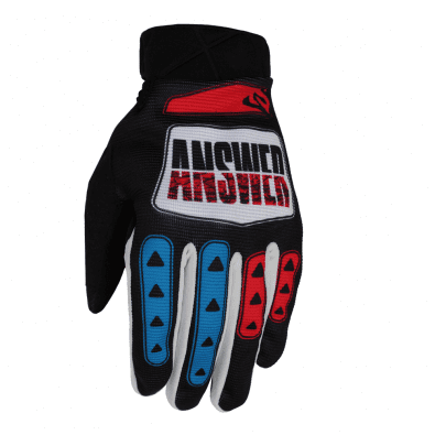 Guantes Answer Ar3 Proglo - Hyper Blue/Pink/Black