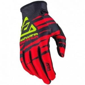 Guantes Answer Niños Ar1 Proglo – Red/Black/Hyper Acid