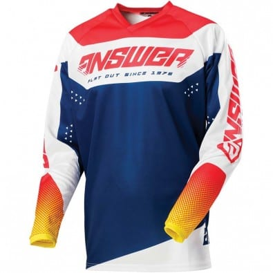 Jersey Answer Niños Syncron Charge Air Pink - Pro Yellow - Mid