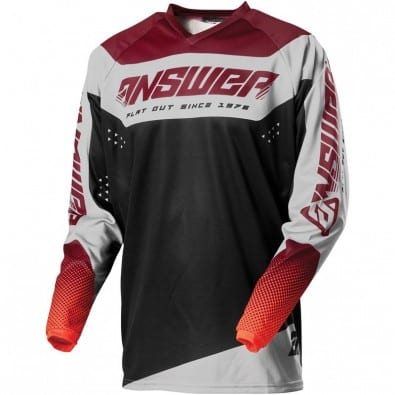 Jersey Answer Niños Syncron Charge Berry-Flo Red-Black