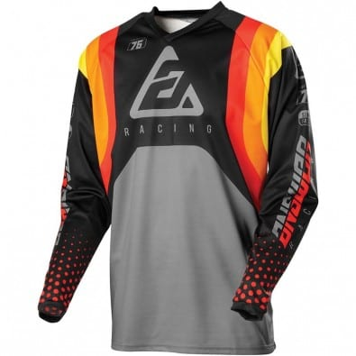 Jersey Answer Niños Syncron Swish Red - Org - Silver