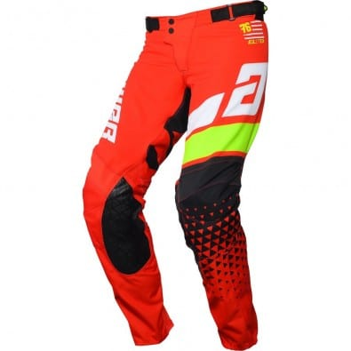 Pantalón Answer Elite Korza Red/White/Hyper Acid/Black
