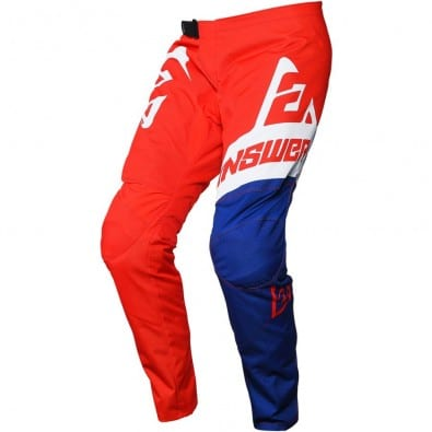 Pantalon Moto Answer Syncron Voyd Niños Red/Reflex/White
