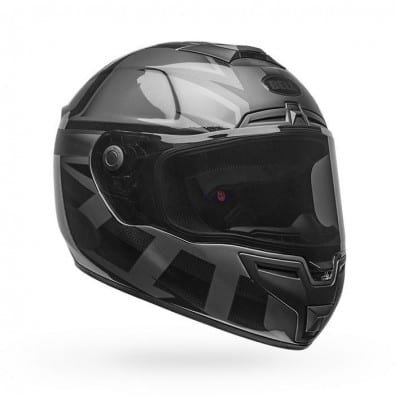 Casco Bell Srt Predator Blackout Matte Back