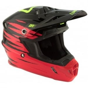 Casco Answer Ar-1 Pro Glo Red/Black/Hyper Acid