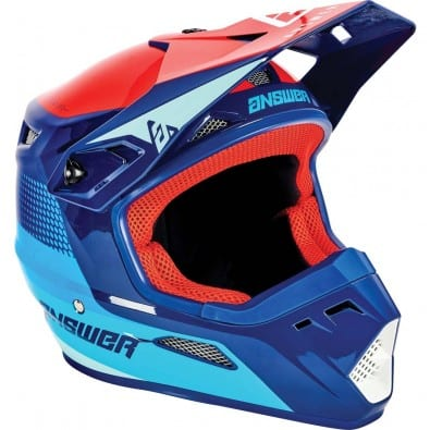 Casco Answer Niños Ar-1 Voyd Charcoal/Gray/Orange