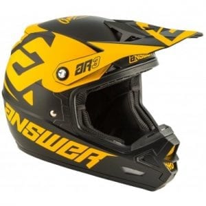 Casco Answer AR-3 Bold – Black-Bus