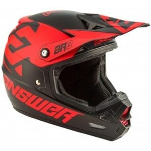Casco Answer AR-3 Bold – Black-Red