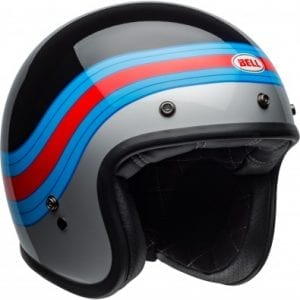 Casco Bell Custom 500 Pulse Black/Blue/Red
