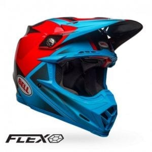 Casco Bell Moto-9 Flex Hound Cyn/Red