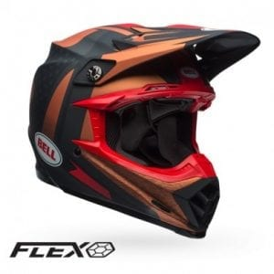 Casco Bell Moto-9 Flex Vice Bkl/Cpr