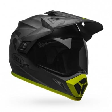 Casco Bell Mx-9 ADV Mips Stealth Camo MT Black - Hi-viz