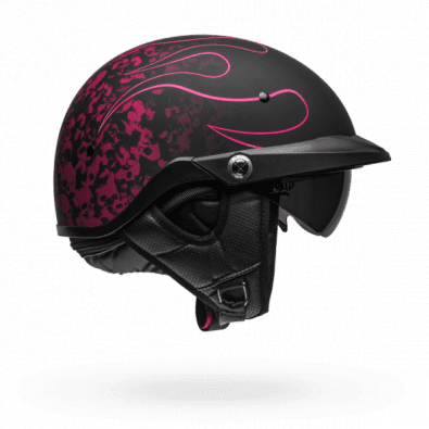 Casco Bell Pit Boss Catacombs Pin Matte Black/Pink