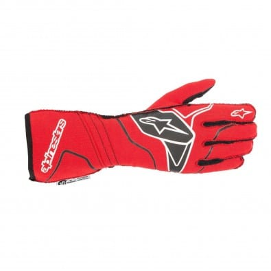 Guantes Auto Alpinestars Tech-1 Zs V2 Red Black