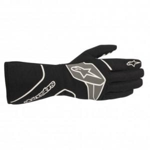 Guantes Auto Alpinestars Tech-1 Race V2 Black White