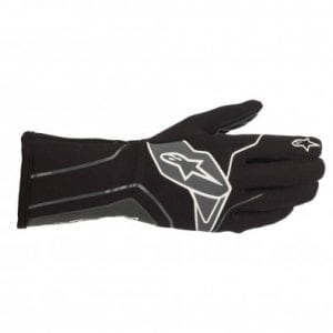 Guantes Karting Alpinestars Tech-1 K V2 Black-Ant