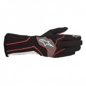 Guantes Karting Alpinestars Tech-1 K V2 Black-Red-White