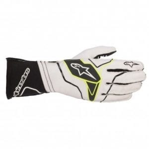 Guantes Karting Alpinestars Tech-1 KX V2 White – Black
