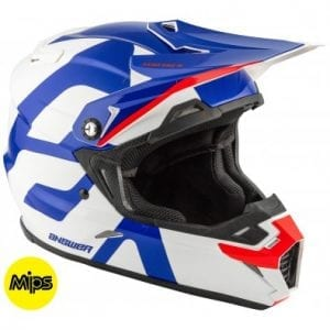 Casco Answer AR-5 Voyd MIPS REFLEX/WHITE/RED