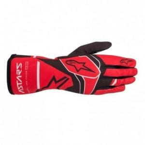 Guantes Karting Niños Alpinestars Tech-1 K Race Red-Black-Gray