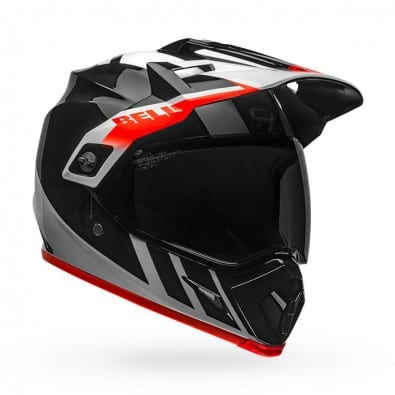 Casco Bell Mx-9 ADV Mips Dash Bk/Wh/Or ECE